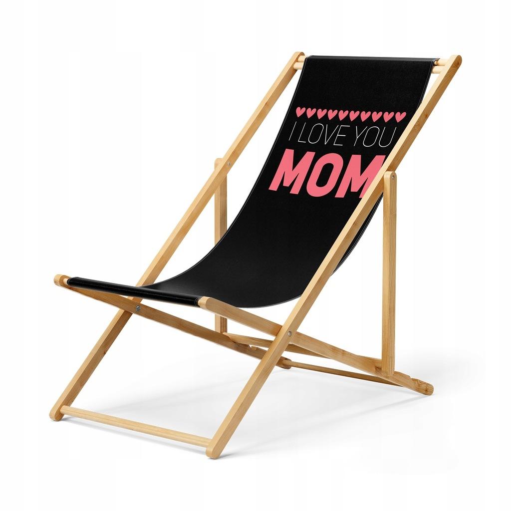 Leżak I Love You Mom