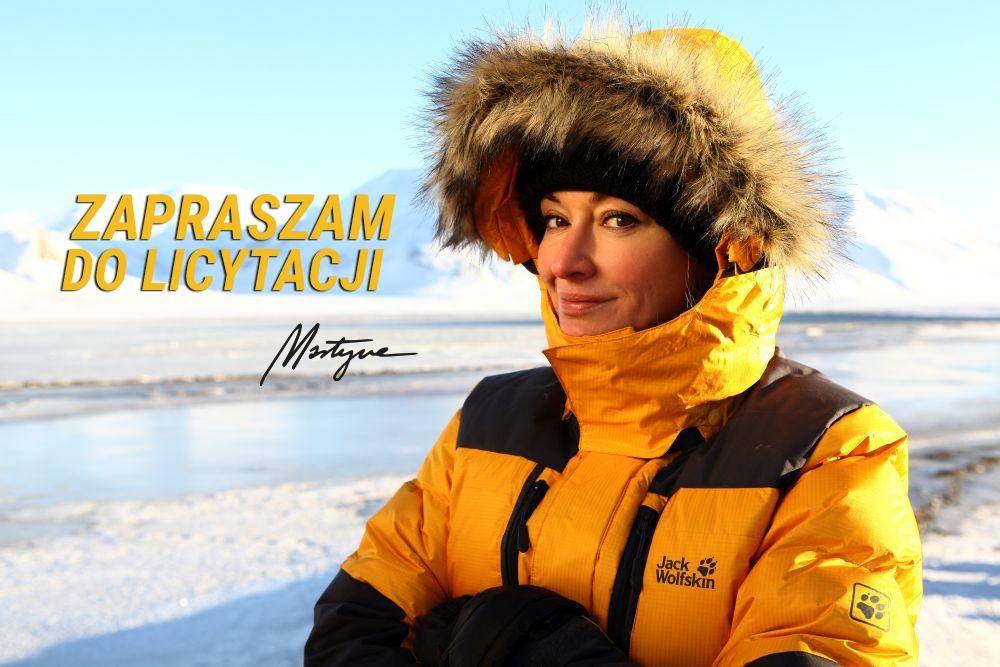 HIT! Kurtka Martyny Wojciechowskiej - Spitsbergen!