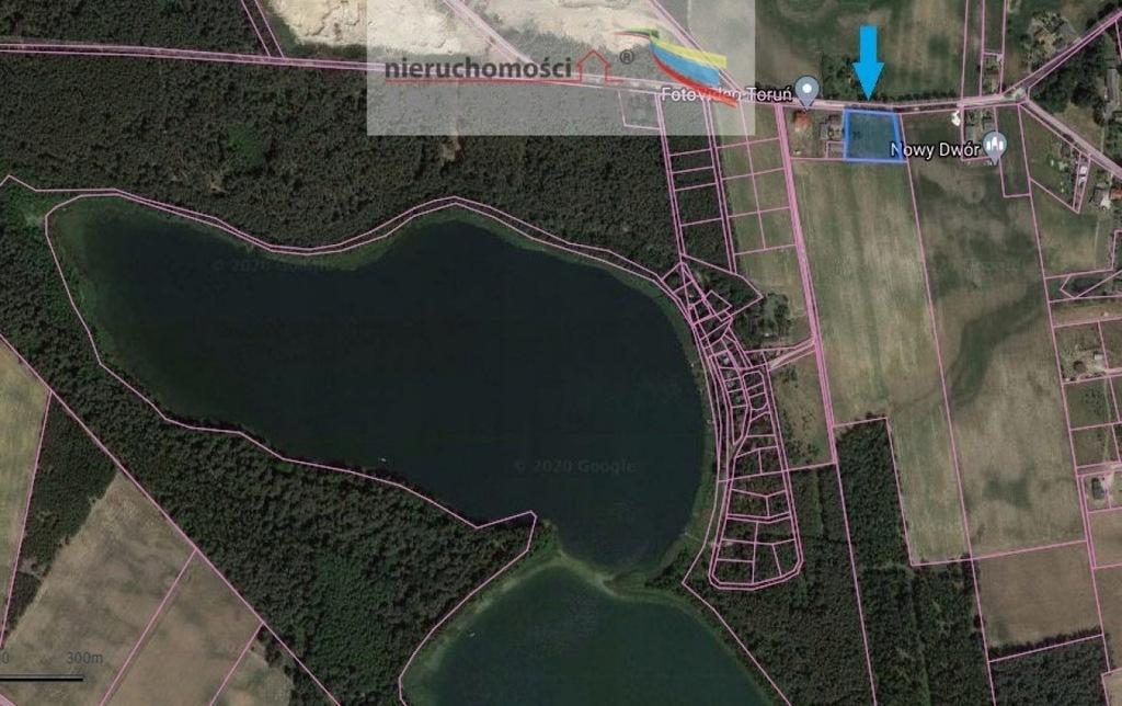Działka, Nowy Dwór, 3267 m²
