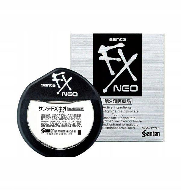 Santen FX Neo Eye Drop KROPLE DO ZMĘCZONYCH OCZU