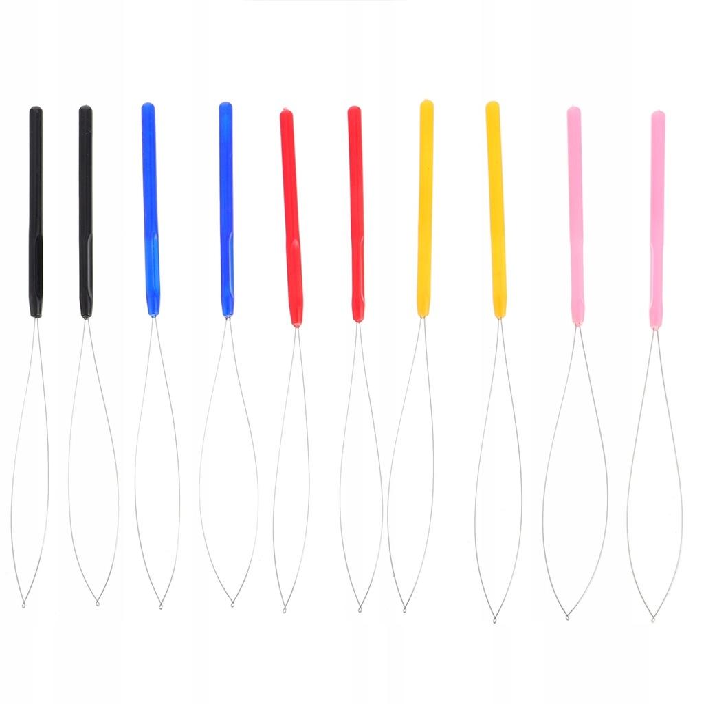 10 sztuk Crochet Wig Crochet Wielofunkcyjne narzęd