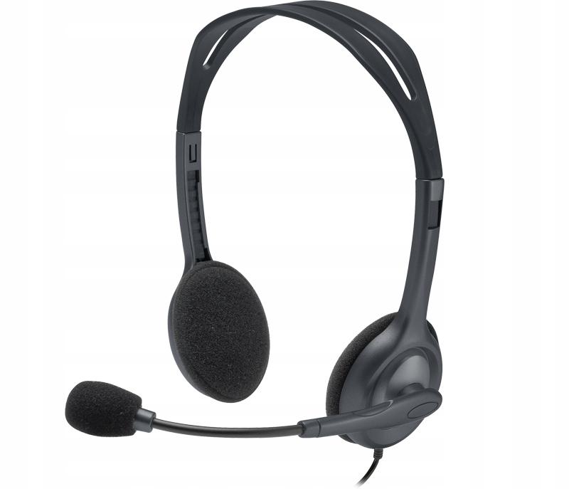 LOGITECH H111 Stereo Headset + Mikrofon Jack 3,5mm