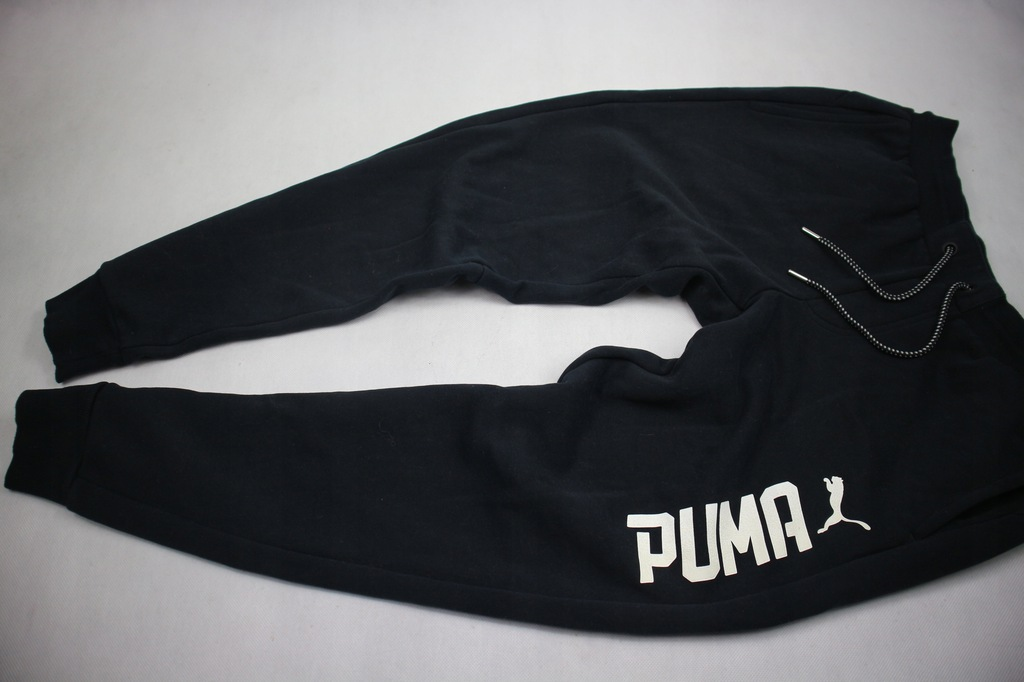 Puma joggersy spodnie dresowe logo M