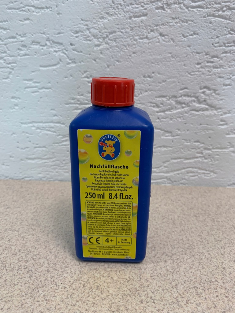 Bańki mydlane płyn do baniek 250 ml