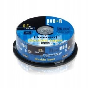 DVD+R INTENSO 8.5GB X8 DOUBLE LAYER (25 CAKE)_od A
