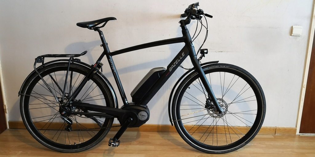 GAZELLE CITYZEN C8 !500Wh! do 40km/h!