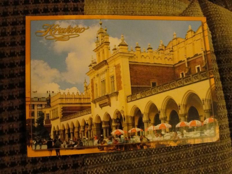 pocztówka z krakowa