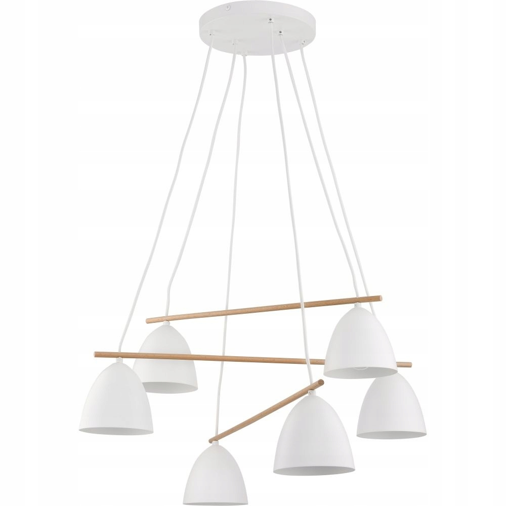 Lampa wisząca sufitowa 6pł AIDA TK Lighting