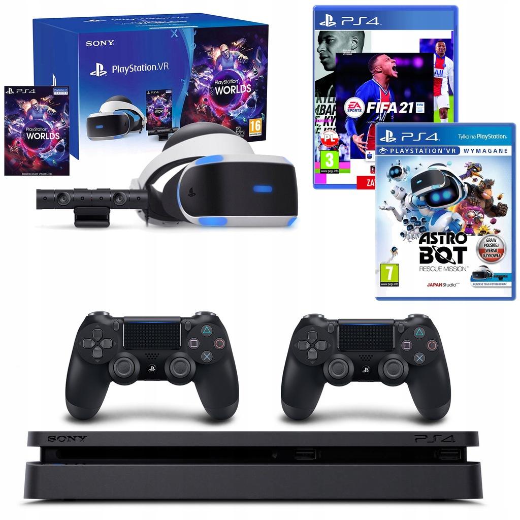 Konsola Sony Ps4 2 Pady Playstation Vr Zestaw Gry 9942325227 Oficjalne Archiwum Allegro