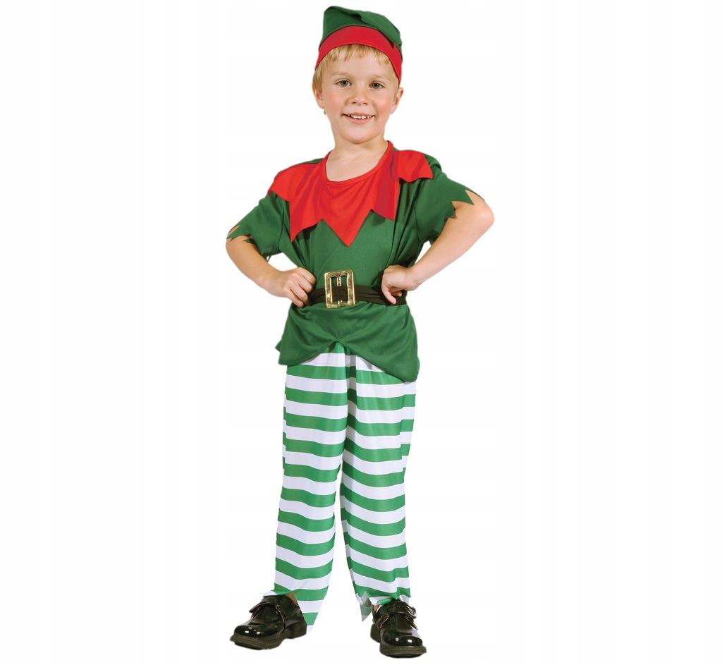 Stroj Elfa Dla Dzieci Maly Elfik Przebranie Bal 9662621541 Oficjalne Archiwum Allegro