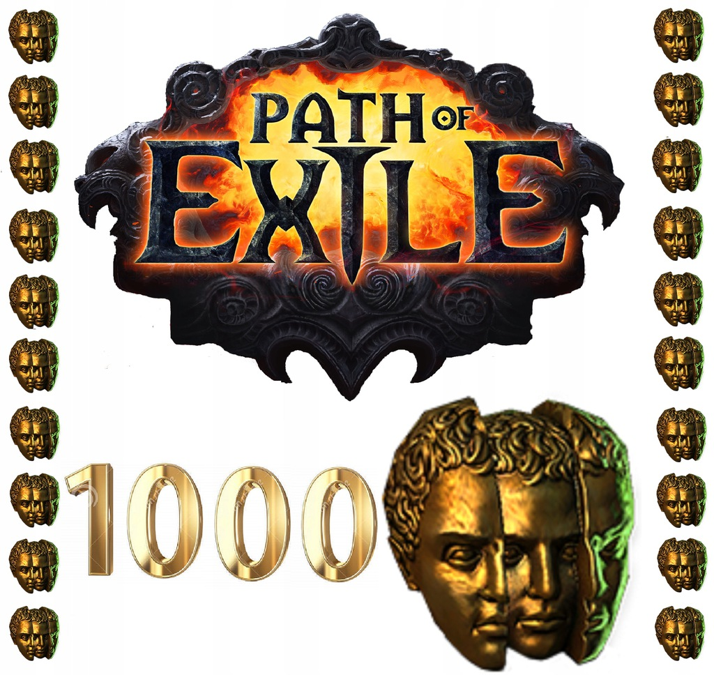 Path of Exile 1000X Chaos Orb Liga STANDARD PoE SC