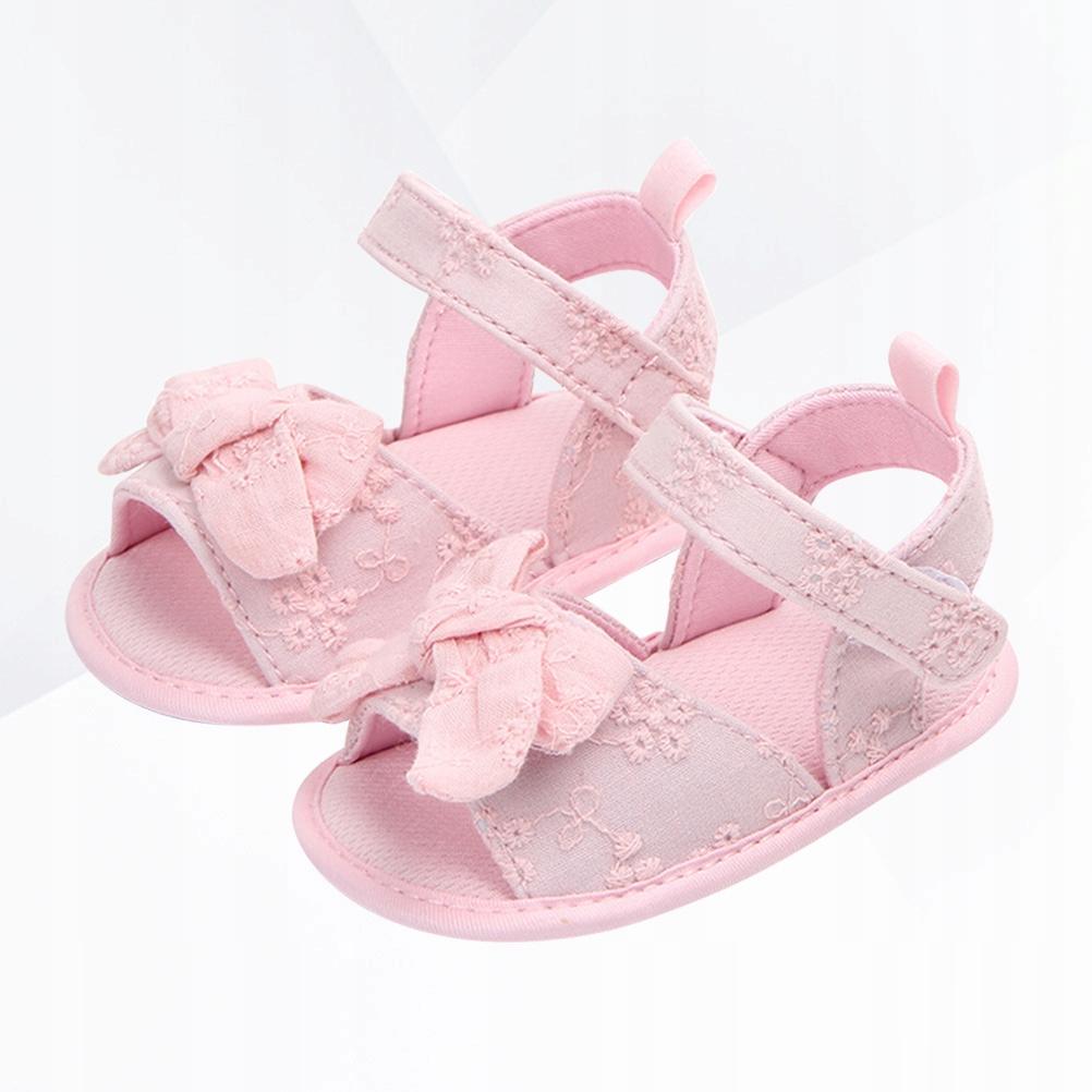 1 para sandałów dla małych dzieci Bowknot Miękkie