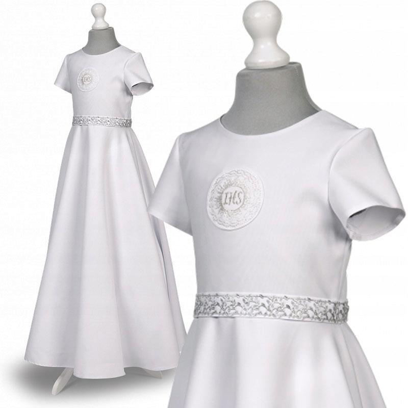Sukienka Komunijna Sukienki Komunijne Roksana 97sr 8556623975 Oficjalne Archiwum Allegro