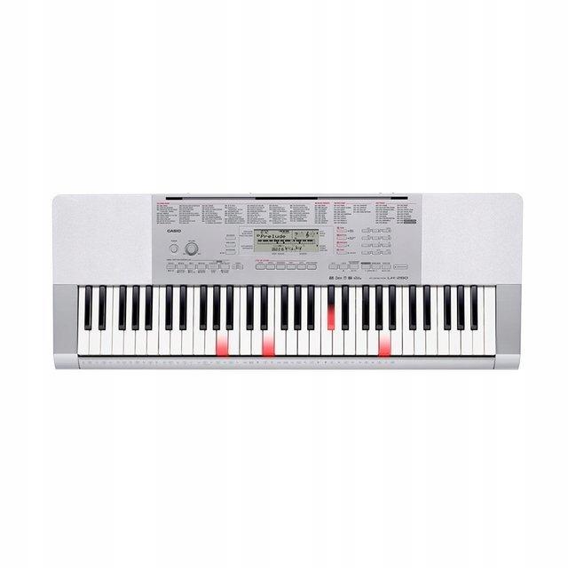 CASIO LK-280, podświetlana klawiatura dynamiczna