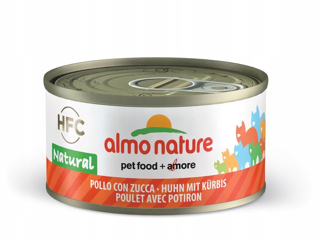 ALMO NATURE HFC Natural - kurczak z dynią 70g
