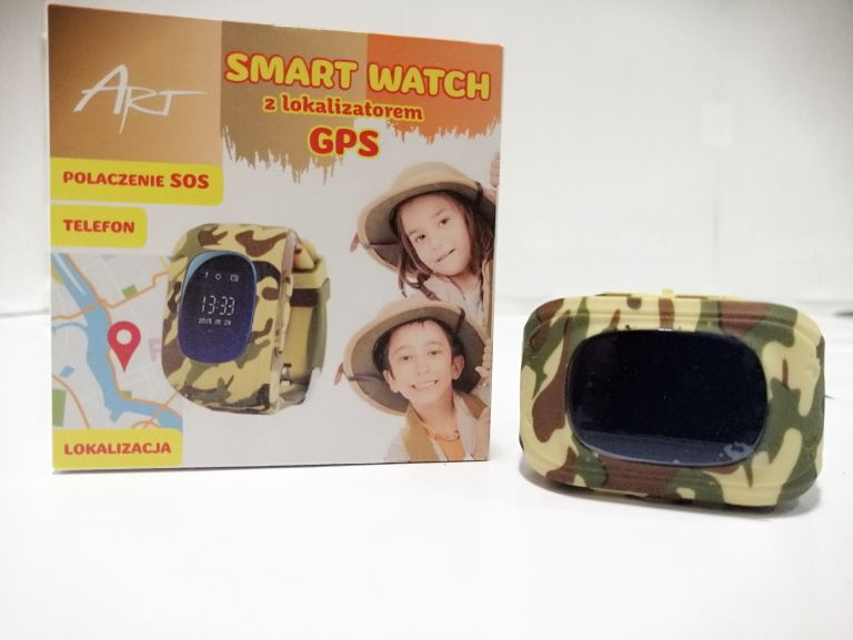 ART SMART WATCH Z GPS DLA DZIECKA JAK NOWY