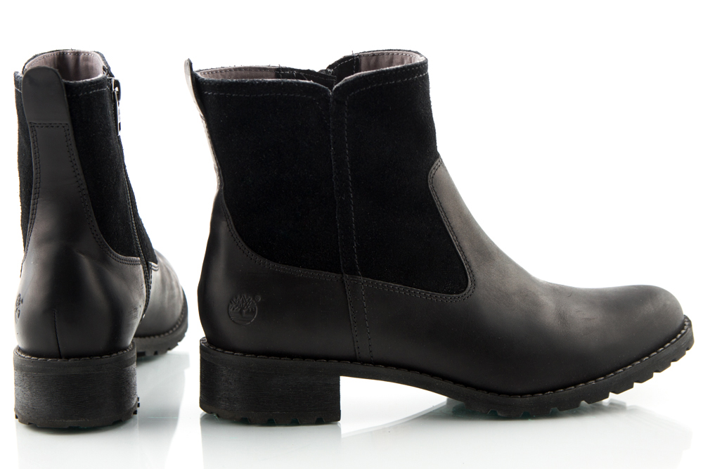TIMBERLAND buty damskie botki sztyblety SKÓRA 37,5