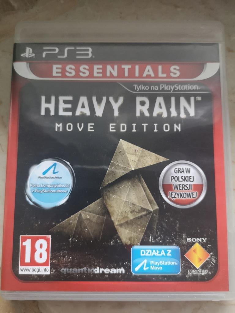 Heavy rain move edition PS3 PL