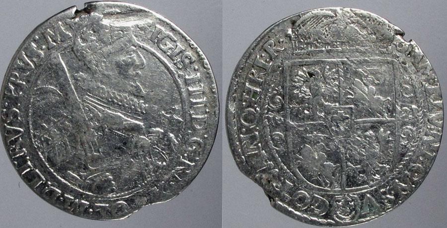 2159. ZYGMUNT III WAZA, ORT 1621