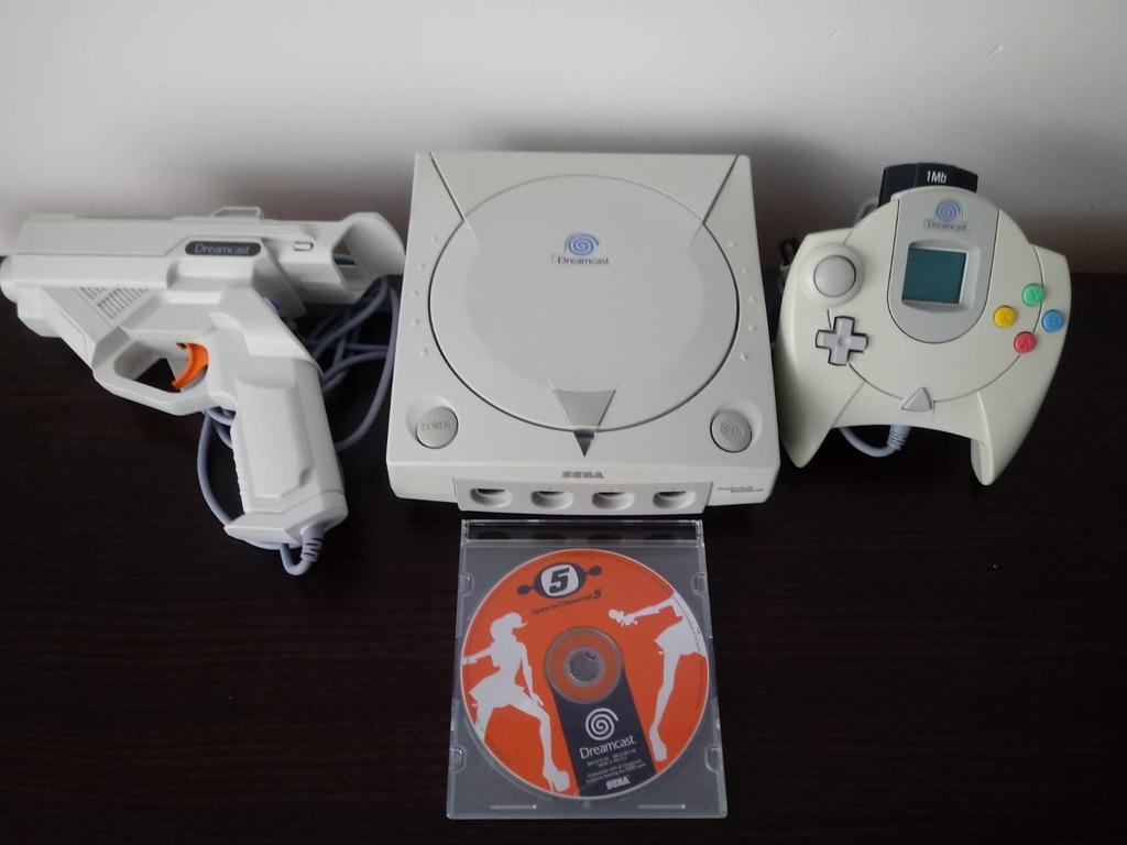 Sega Dreamcast pistolet gra karta bcm