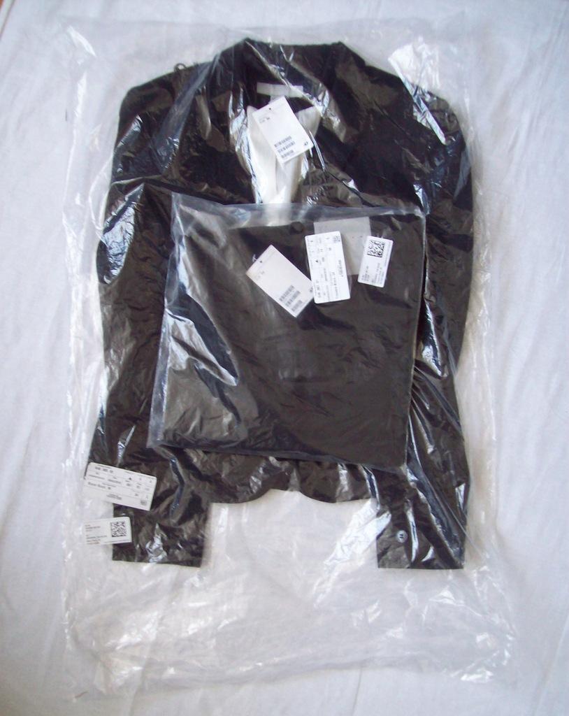 HM kostium czarny nowy 36/34 z metkami