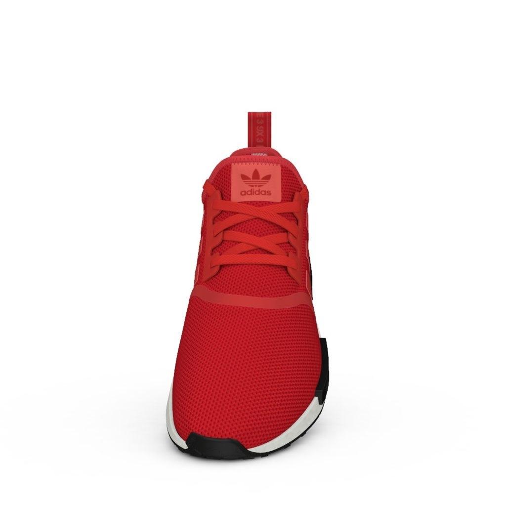 Buty czerwone męskie Adidas NMD R1 BB1970