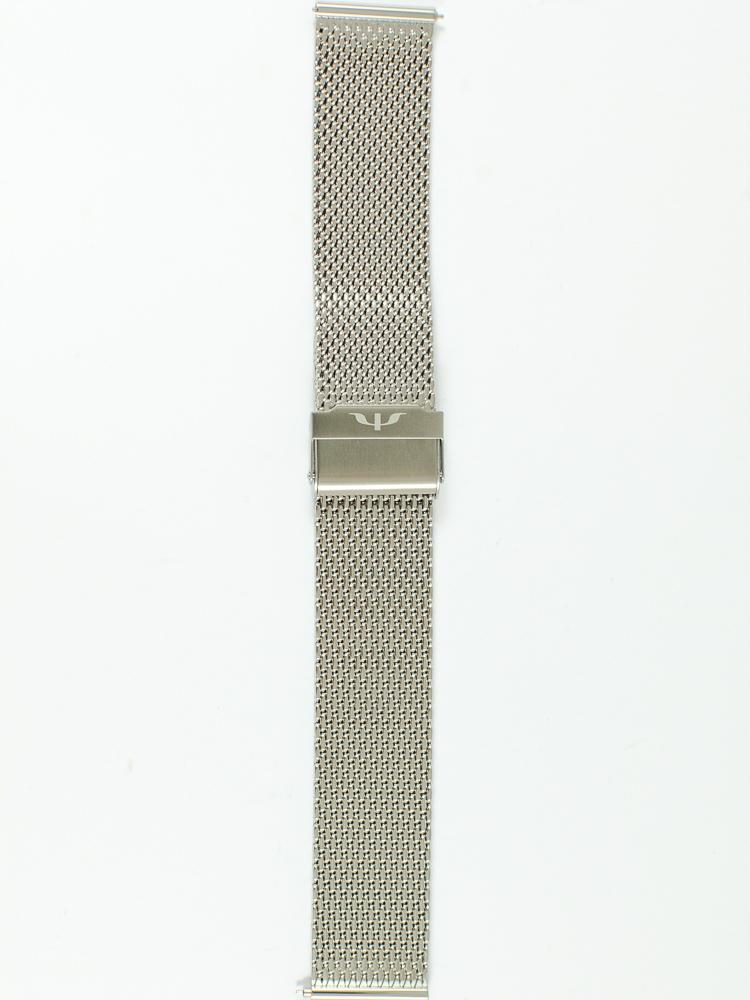 Stalowa bransoleta MESH do zegarka - Bisset 22 mm