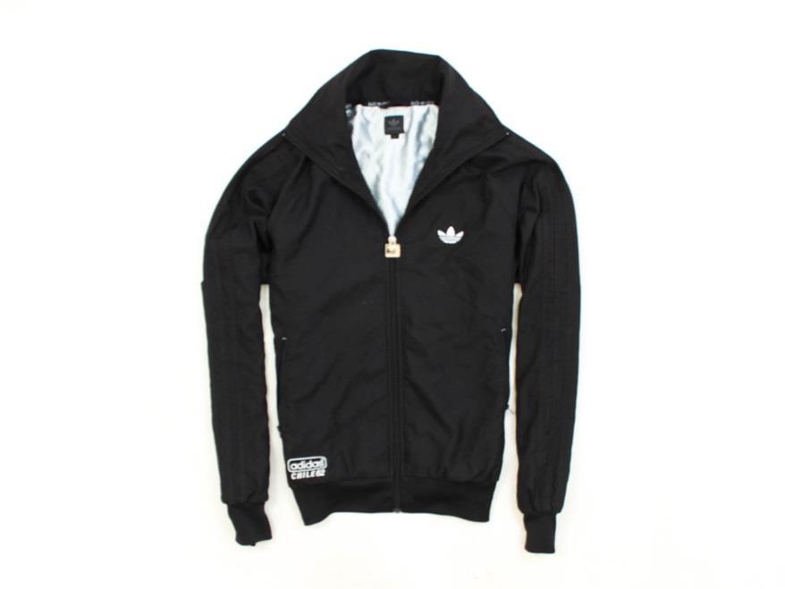 *G Adidas Chile62 Kurtka Męska Wiatrówka Czarna S