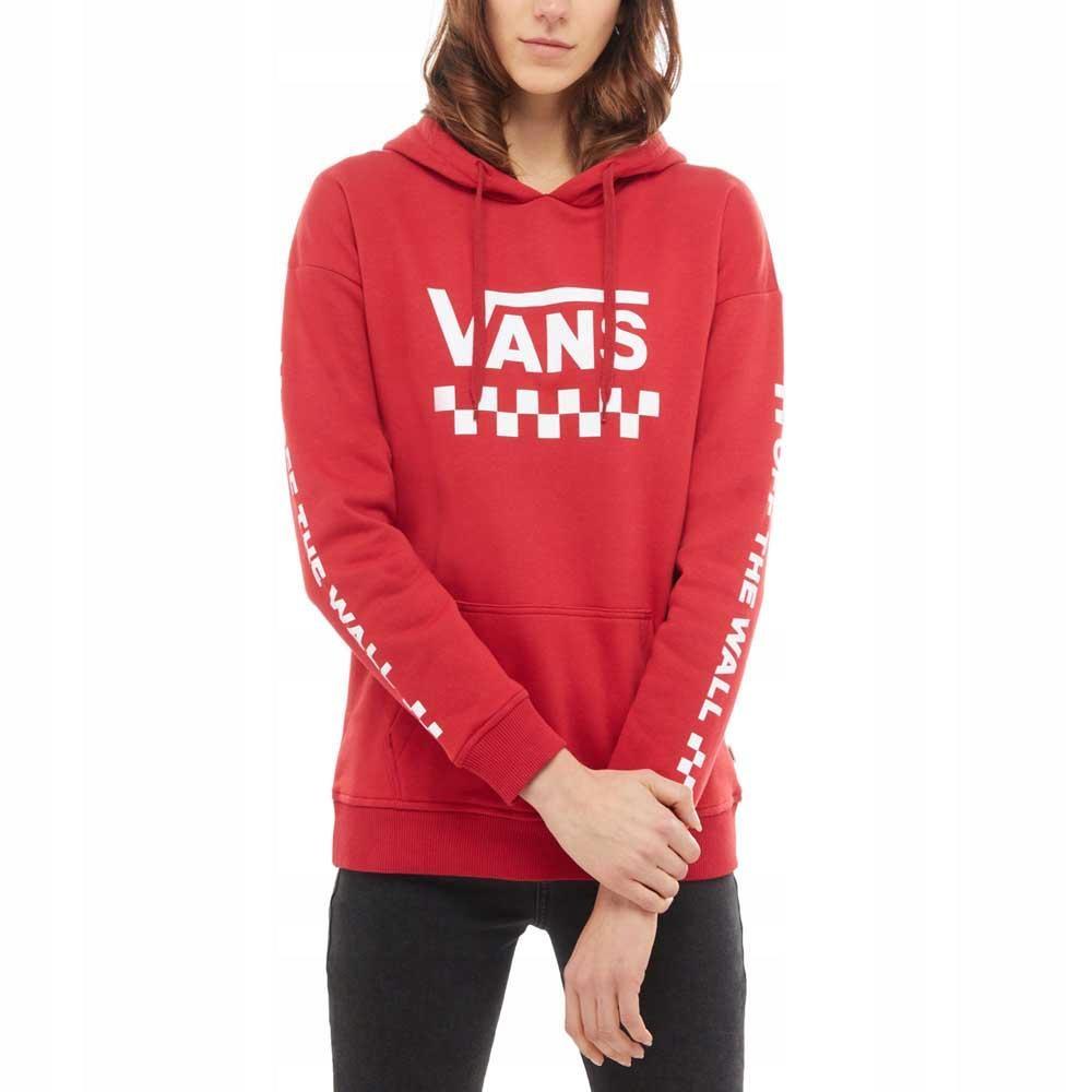 krótka czerwona bluza z trashera