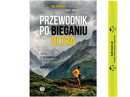 Przewodnik po bieganiu ultra, Hal Koerner + opaska