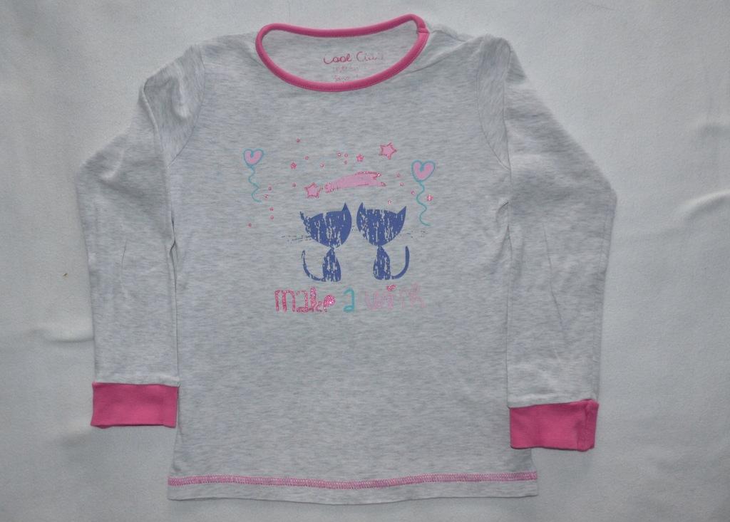 Piżamka- bluzka dla dziewczynki Cool club roz. 110