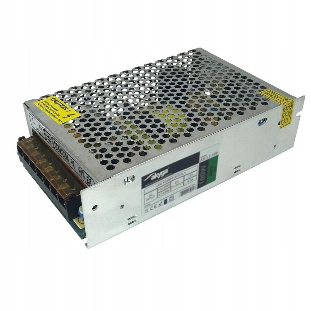 Zasilacz impulsowy modularny do LED Akyga AK-L1-10