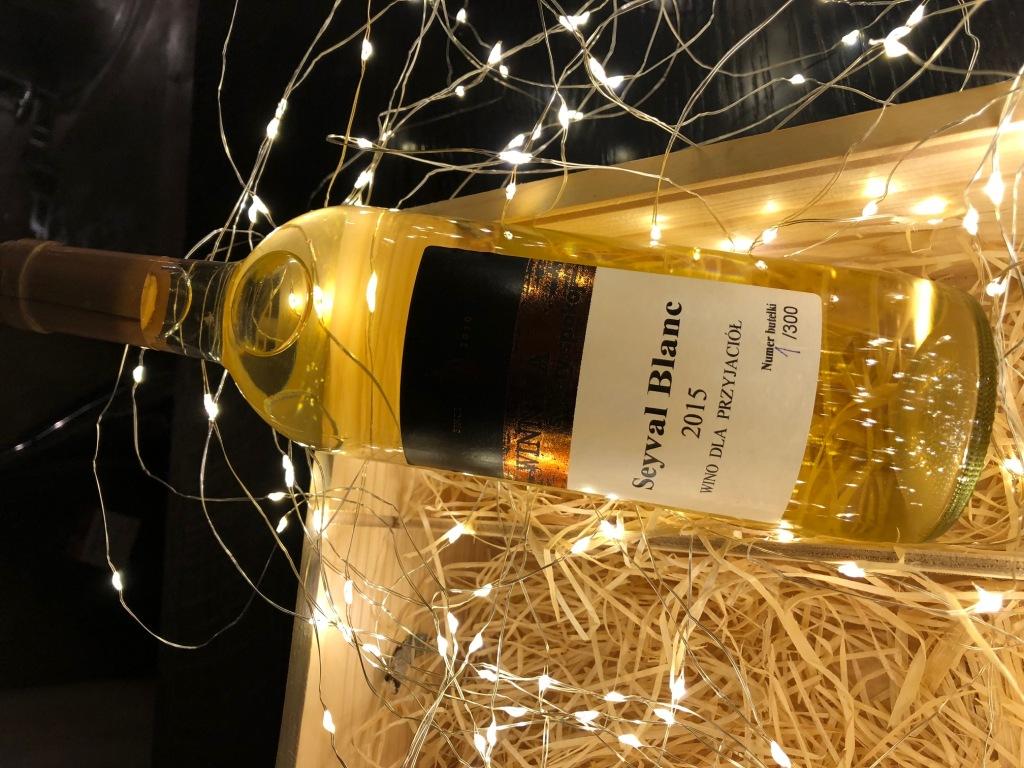 Wino Seyval Blanc WINNICA ŚWIĘTY SPOKÓJ