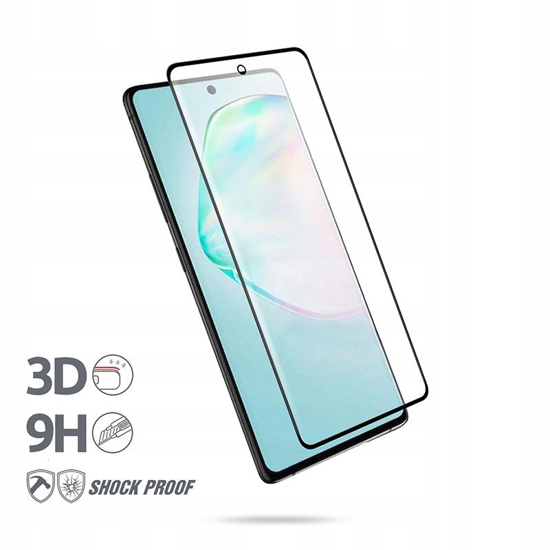 Crong 3D Armour Glass - Szkło hartowane 9H na cały