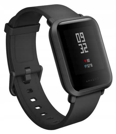 OUTLET Czarny Smartwatch XIAOMI Amazfit Bip GPS
