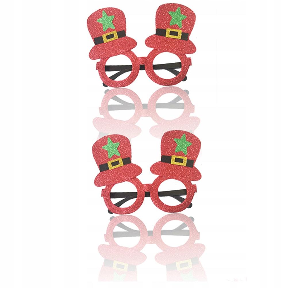 2 SZTUK St. Patricks Day Okulary Kreatywne okulary