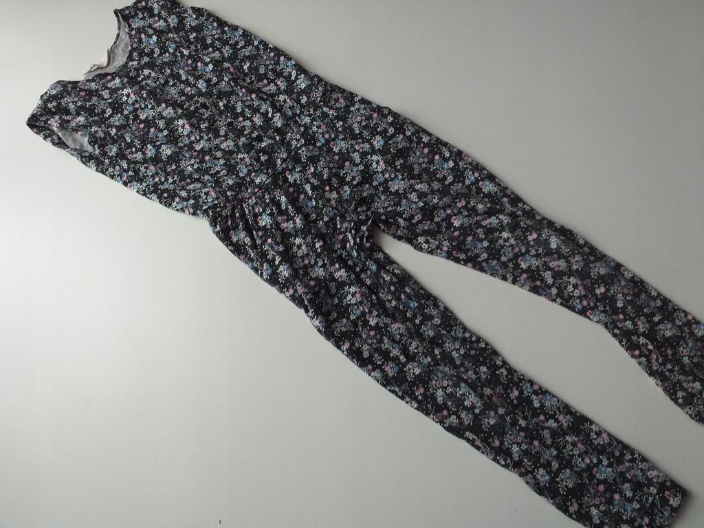 agastyl H&M kombinezon w kwiaty 140