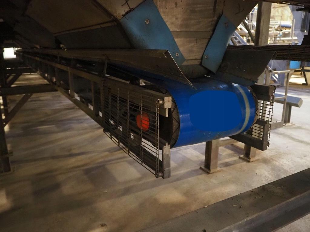 przenośnik tasmowy taśmociąg podajnik 20m 400mm