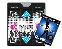 PS2 Mata Dance Party + gra Dance Party Club Hit