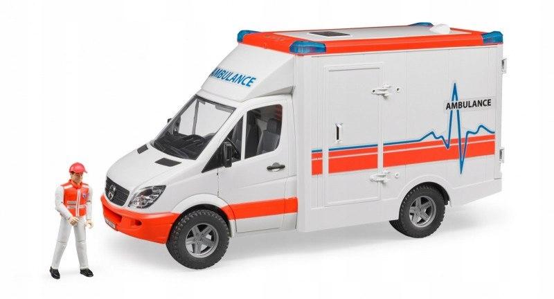 Samochód MB Sprinter Ambulans z figurka
