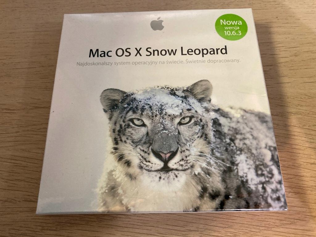 Mac OS X Snow Leopard 10.6.3 Retail