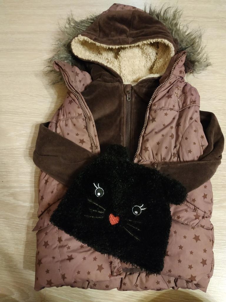 Kamizelka/ocieplacz wiosna/jesień110+bluza+czapka