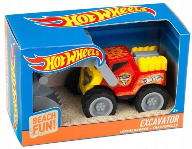 Koparka Hot Wheels 1:24