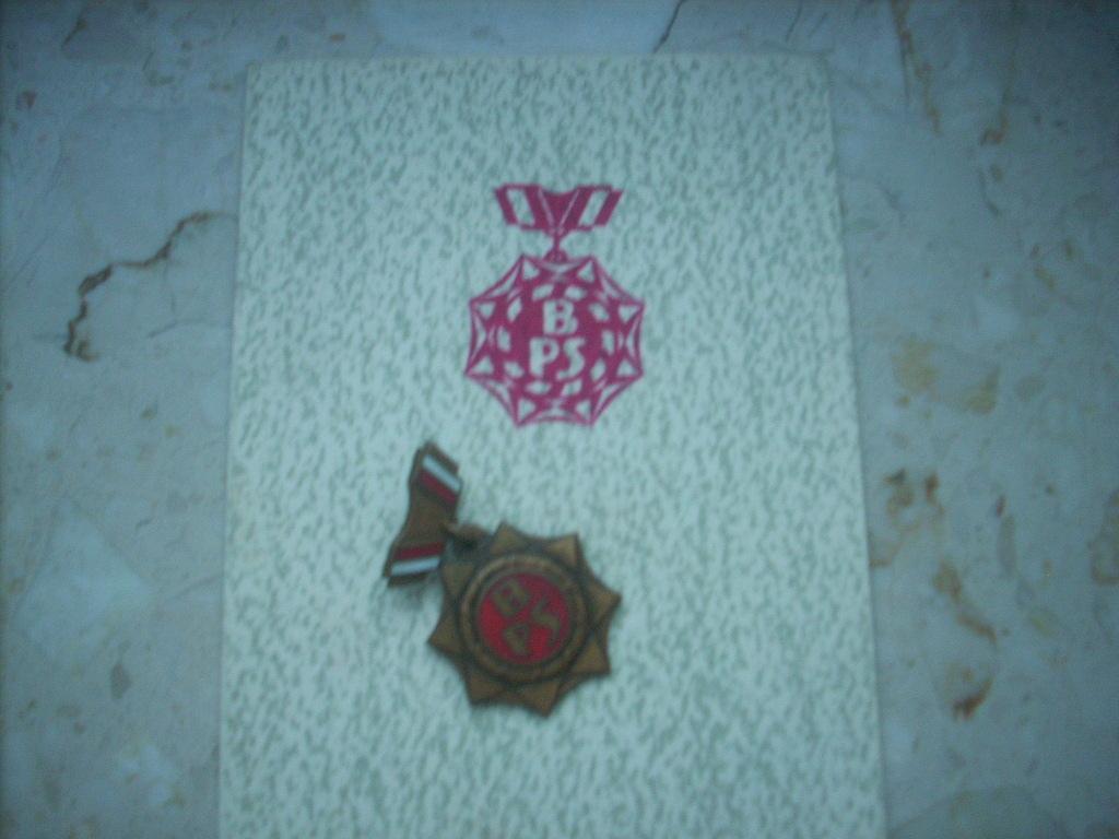 Odznaka z czasów PRL