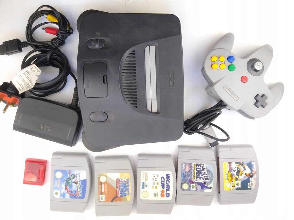 N64 Zestaw z Grami ! Nintendo