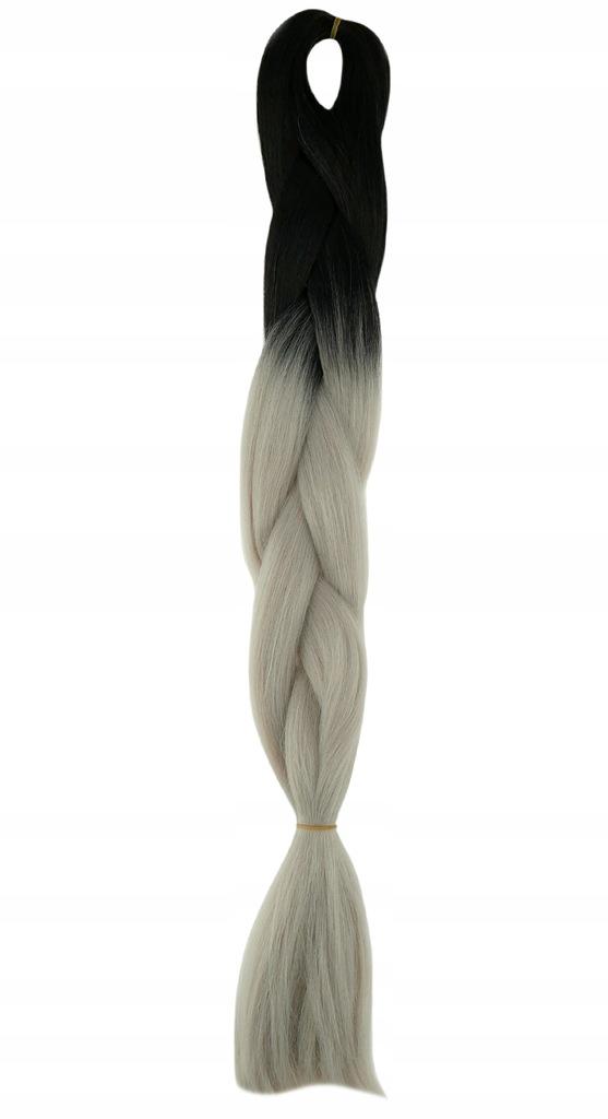 Włosy Syntetyczne kolorowe warkoczyki ombre S2-77