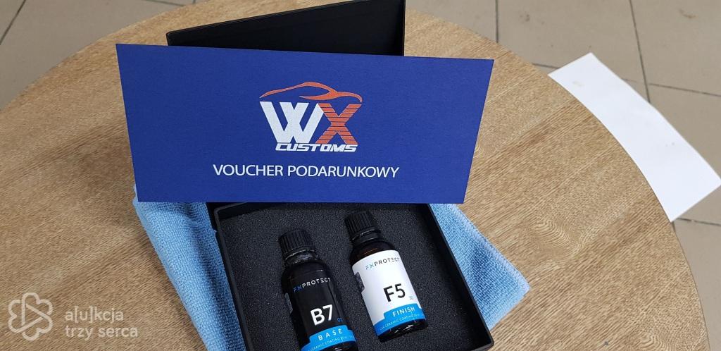 Voucher podarunkowy od firmy WXCUSTOMS