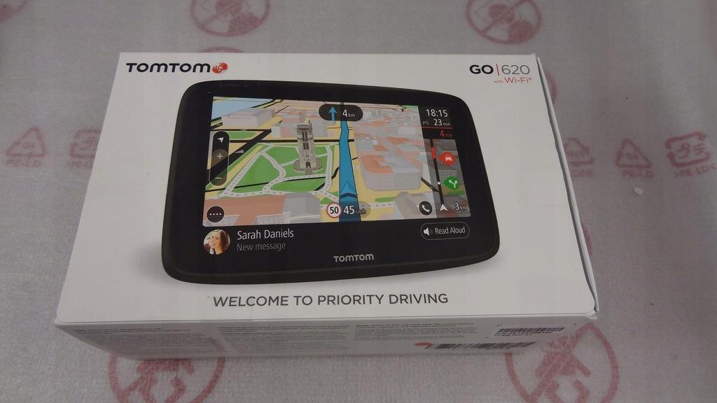 Nawigacja TomTom GO 620 EU Wi-Fi 6''