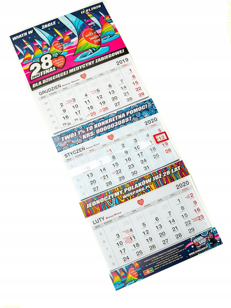 Kalendarz WOŚP - 28 Finał
