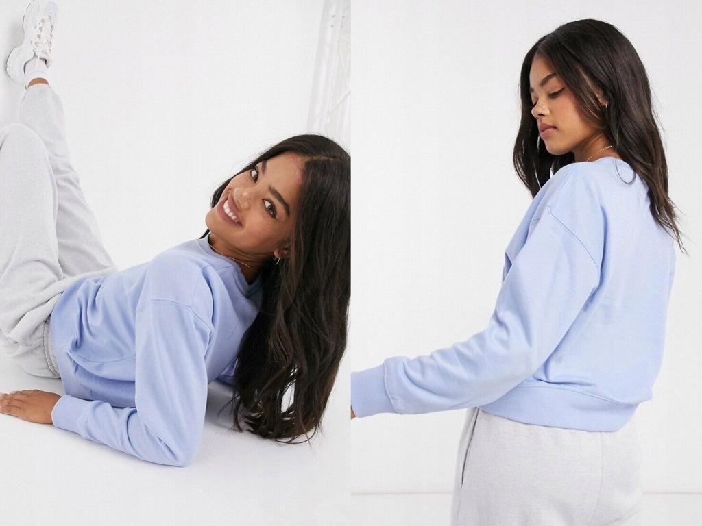 New Look Bluza w kolorze jasnoniebieskim M/38